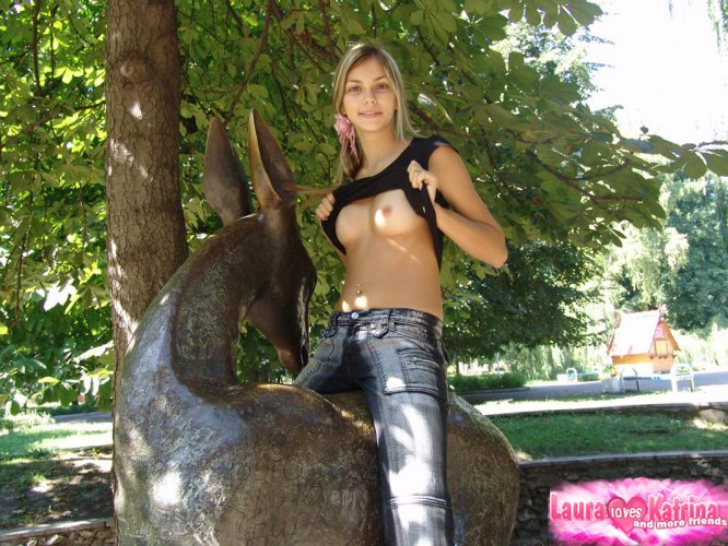 Sweet teen loves to touch herself 6