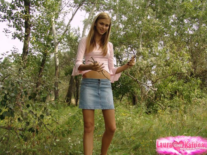 Are katrina nude in woods