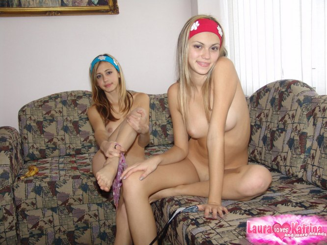 Teen Films Herself Naked