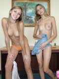 Horny Katrina Gently Lickin Lauras Cute Bosom - Picture 10