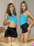 Pantyhose Babes With A Fantastic Body Strips Off - Picture 10