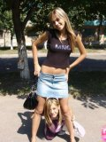 Two Hotties In Air Tight Dress Flashing In Public - Picture 13