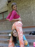 Couple Of Hot Chicks In Tight Dresses Seducing Me - Picture 12